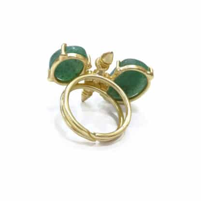 Two Stone Traditional Ring