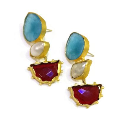 Reverie Golden Drop Earrings