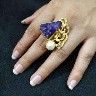 Yucca Vine Purple Ring