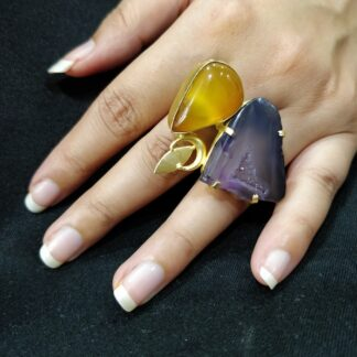 Two Stone Candy Ring