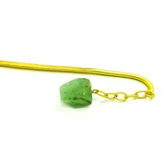 Green Dangling Juda HairPin
