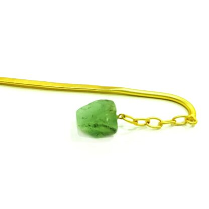 Green Dangling Juda HairPin
