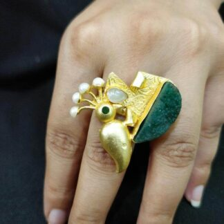 The Green Woodpecker Ring